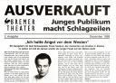 AUSVERKAUFT - Ich hatte Angst vor dem Westen
