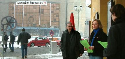 Mitmischen (im)possible - Ostprinzessin am Rosa-Luxemburg-Platz