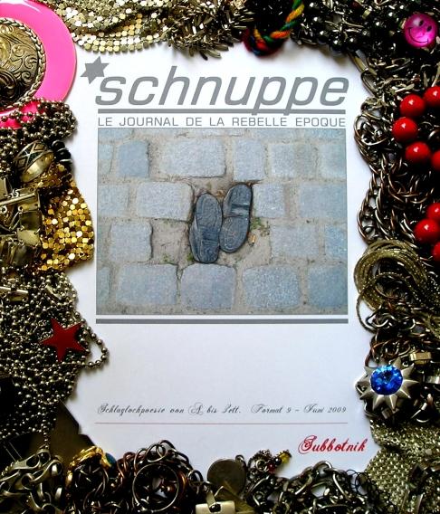 *schnuppe - Schlaglochpoesie von A bis Zett - Format 9