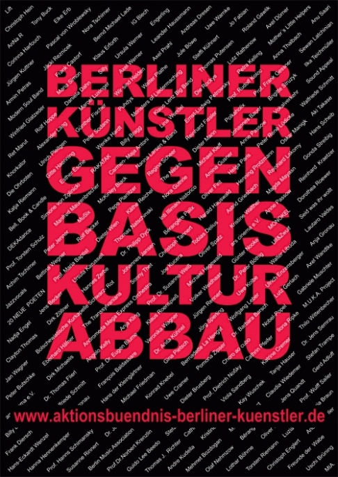 Aktionsbündnis Berliner Künstler