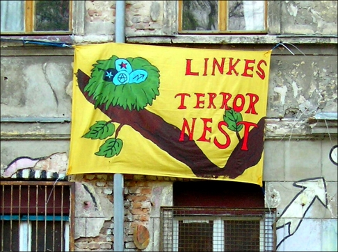Linkes Terrornest