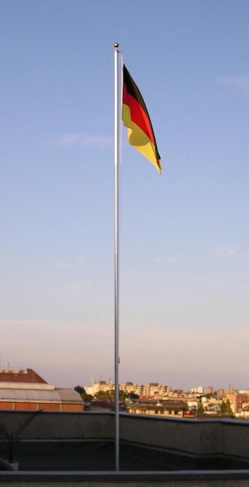 Nachbars Fahne