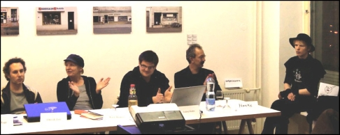 Chris de Lutz, Karin Baumert, Andrej Holm, Christian Hanke, Ostprinzessin